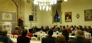 """İlkadım'da şiir, kültür ve sanat etkinliği Erge: """"Uluslararası şiir evi kurulmalı"""""""