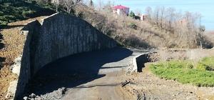 Eynesil-Ören Beldesi arasındaki yeni yol inşaatı mahkeme kararıyla durduruldu