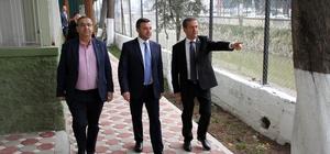 """Doğan: """"Adana olarak 4 üründe birinci sıradayız"""" Yüreğir Belediye Başkanı Fatih Mehmet Kocaispir, Yüreğir Ziraat Odası'nı ziyaret ederek, çiftçilerin sorunları hakkında bilgi aldı"""