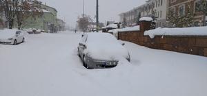 Bingöl'de kar 252 köy yolunu kapattı, Karlıova'da 1 metreye yaklaştı