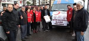 İzmir'den Elazığ'a 3 bin boyoz gönderildi