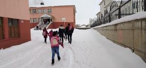 Bingöl'de 2 ilçede taşımalı eğitime ara verildi