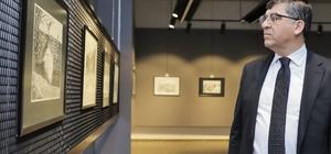 'Çizgilerle Ayntab' sergisi açıldı 'Gazi' unvanı verilişinin 99. yılına özel sergi