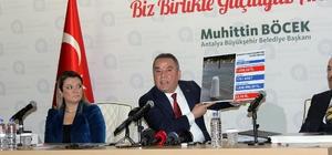 """Böcek: """"Yürütmeyi durdurma nihai bir karar değildir, resmi olarak belediyemize yazı girmemiştir"""" Antalya Büyükşehir Belediye Başkanı Muhittin Böcek: """"Kamu yararını gözetilmemiş rekabet koşulları oluşturulmamıştır, Antalya halkının geleceği ipotek altına alınmıştır, bizim bunu kabul etmemiz mümkün değildir"""" """"Yürütmeyi durdurma nihai bir karar değildir, resmi olarak belediyemize yazı girmemiştir duyumlarımız vardır, yürütmeyi durdurma kararı ile ilgili"""""""