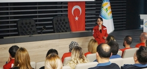 AKUT'tan Mezitli Belediyesi çalışanlarına deprem eğitimi