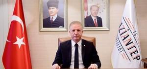 Gaziantep Valisi Gül'den gazilik unvanı mesajı