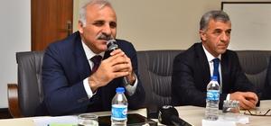 """Başkan Zorluoğlu: """"Bu sene Uzungöl'ü çok daha güzel bir hale getirmek için çalışmalıyız"""" Trabzon Büyükşehir Belediye Başkanı Murat Zorluoğlu, Çaykara ilçesinde sorunları yerinde inceledi"""
