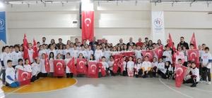 Sportif yenerek taramasında 3. etap sona erdi Türkiye Sportif Yetenek Taraması ve Spora Yönlendirme Projesi