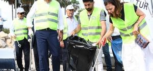 Büyükşehir Belediyesinden 'Kenti Mis' temizlik kampanyası