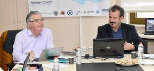 Uluslararası Sustain Coast Projesinin ikinci toplantısı MEÜ'de yapıldı