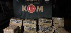 Kocaeli'de polisin durdurduğu araçtan 765 şişe kaçak alkol çıktı