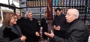 Başkanlar kültür şehri Gaziantep için sahadalar