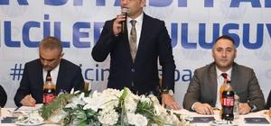 """Başkan Kibar: """"Fatsa ayağa kalkacak"""" Fatsa Belediye Başkanı İbrahim Etem Kibar: """"2020 yılında başlayacak çalışmalarla Fatsa ayağa kalkacaktır"""" """"2020 yılında diğer 18 ilçenin altyapı için harcayacağı para 30 milyon lira iken, Fatsa'ya 40 milyon lira harcanacak"""" """"OSKİ'nin Fatsa'ya gelmesi büyük avantajdır"""""""