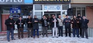 Hisarcık'ta yeni yılın ilk umre kafilesi dualarla uğurlandı