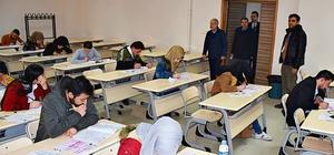 HRÜ'de Yabancı Öğrenci Sınavı yapıldı
