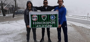 Edinciksporlu atletler Manavgat'ta yarıştı