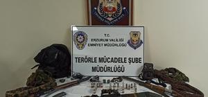 Erzurum'da 500 bin TL ödülle Gri Liste'de aranan terörist etkisiz hale getirildi Yakalanan teröristin evinden mühimmat çıktı