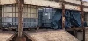 Gaziantep'te 9 bin 500 litre kaçak akaryakıt ele geçirildi