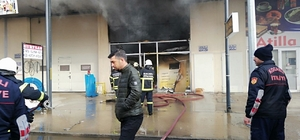 Sanayi sitesinde çıkan yangın paniğe neden oldu