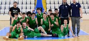Manisa BBSK U16 Takımı Manisa Şampiyonu oldu