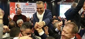 Antalya CHP'de Bayar dönemi CHP'nin yeni il başkanı Nusret Bayar oldu 627 delegenin oy kullandığı seçimde Nusret Bayar rakibine 43 oyla fark attı