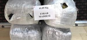 Şanlıurfa'da 68 kilo 450 gram esrar maddesi ele geçirildi
