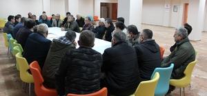Ulaşım Master Planı çalışmaları sürüyor Elmalı'da toplu taşıma esnafının sorunları dinlendi