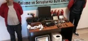 Kapkaç ve evden hırsızlık şüphelisi 4 şahıs yakalandı
