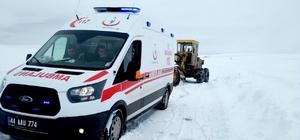 Malatya'da 59 mahalle yolu ulaşıma açıldı Hastalar hastanelere ulaştırıldı