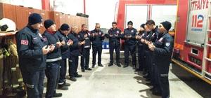 Mesaiye dua ile başlıyorlar