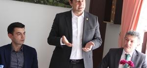 """MHP'li Bulut: """"Almus'u siyasete ve ayak oyunlarına kurban etmeyeceğiz"""""""