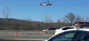 120 araç havadan denetlendi, 4 araç trafikten men edildi