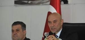 İzmir'de gergin meclis toplantısı Başkan Soyer ve meclis üyesi arasında Sayıştay raporu tartışması yaşandı Başkan Soyer, elektrik fabrikası ile ilgili talebini yineledi