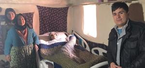 Büyükşehirden 11 hastaya daha hasta yatağı yardımı