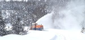 Kastamonu'da kar yağışı nedeniyle okullar 1 gün tatil edildi