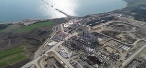 Çin'den 2 milyar 100 milyon dolarlık enerji yatırımı Adana'da yılda 11,5 milyar kilovat elektrik üretecek Emba Hunutlu Enerji Termik Santrali'nin inşaatı devam ediyor Genel Koordinatör Kadir Kanat, santralin 2022 yılında devreye gireceğini belirtti