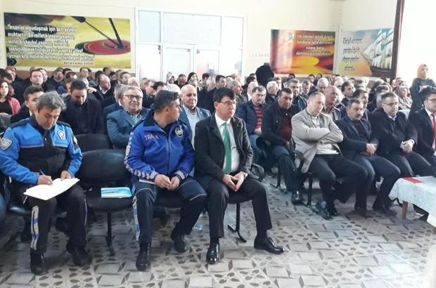 Alaşehir'de okulların güvenliği masaya yatırıldı