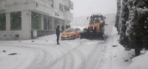 Yozgat'ta yoğun kar yağışı