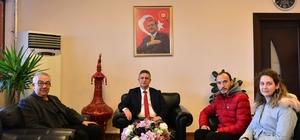 Rektör Prof. Dr. Kuş, İdlib gazisiyle buluştu