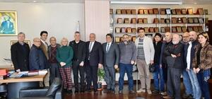MGC yönetiminden Başkan Tollu'ya ziyaret