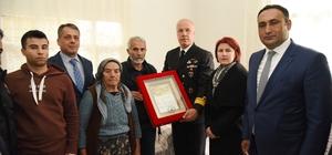 Şehit ailelerine 'şehadet belgesi' verildi