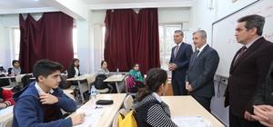 Başkan Tahmazoğlu KDS öncesi öğrencilere moral verdi