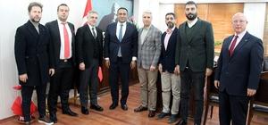 Mersin GİAD üyelerinden Başkan Yılmaz'a ziyaret
