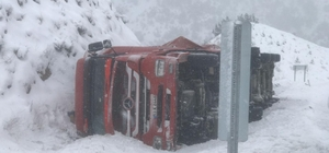 Koyulhisar'da trafik kazası:1 yaralı