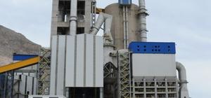 Elazığ'a 2 bin 500 ton çimento desteği