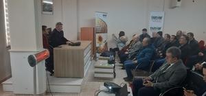 Şeker pancarı üretimi bilgilendirme toplantısı