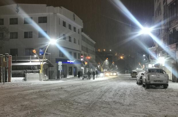 Tunceli'de okullara kar tatili