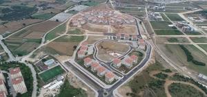 Bursa'da, TOKİ'nin 3200 konutu için zemin etüdü