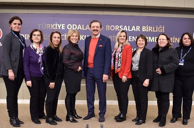 Hisarcıklıoğlu'ndan Aydınlı kadın girişimcilere 'Rol Model Olun' çağrısı