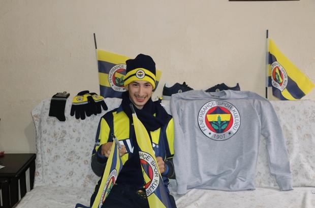 Engelli Yakup'un Fenerbahçe hayali gerçek oldu Adana Fenerbahçeliler Derneği, Yakup'a forma hediye etti